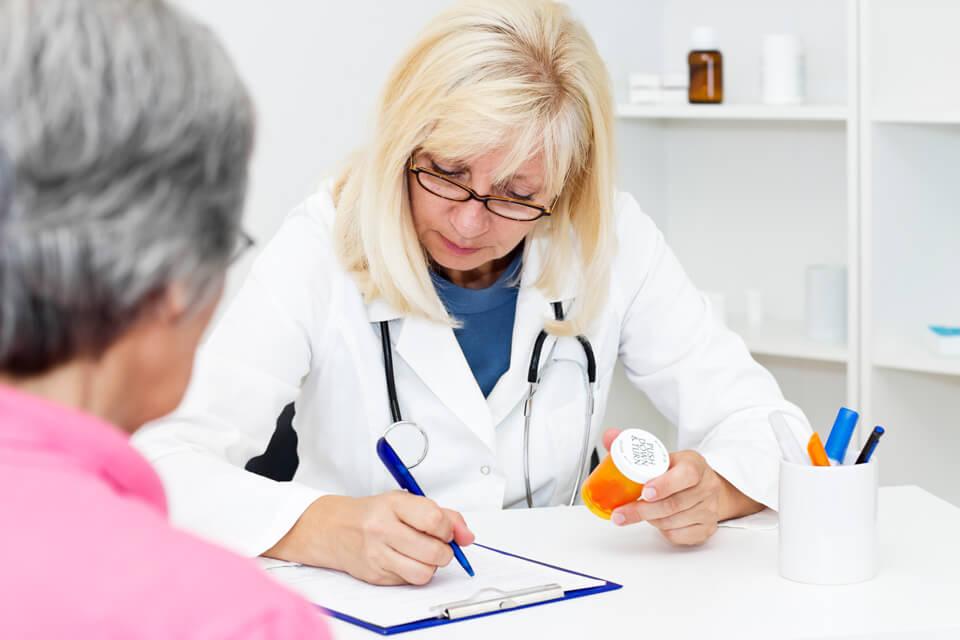Назначение врачем лекарственных препаратов