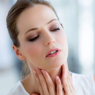Увеличение подчелюстных лимфоузлов