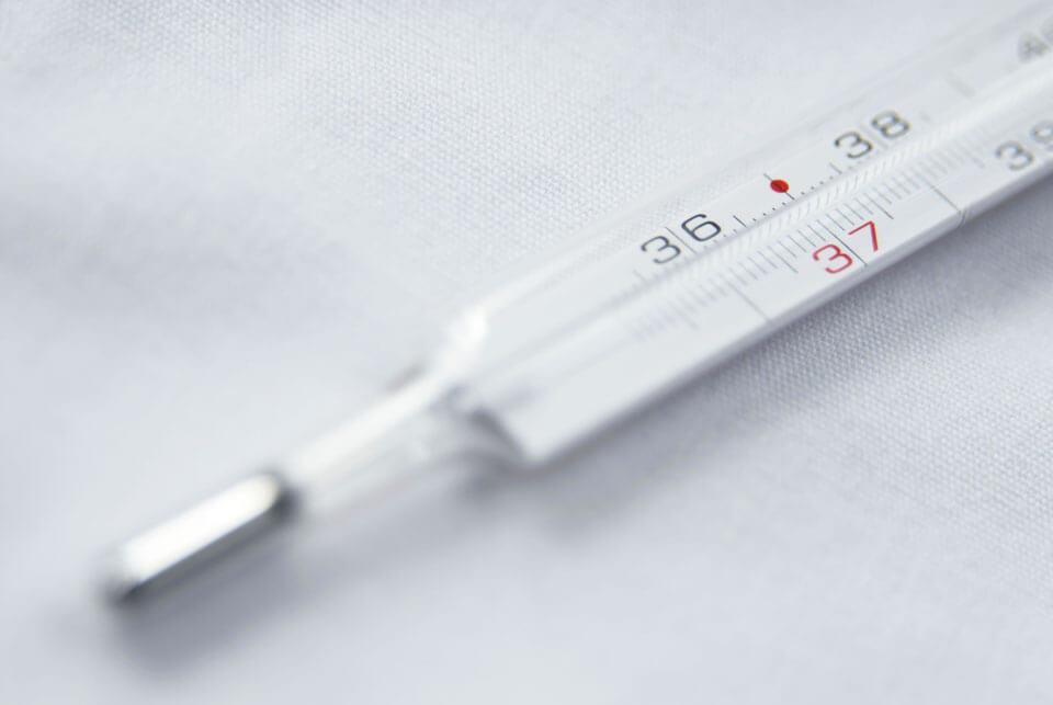 Низкая температура тела 35.5 - 35.9 у взрослых