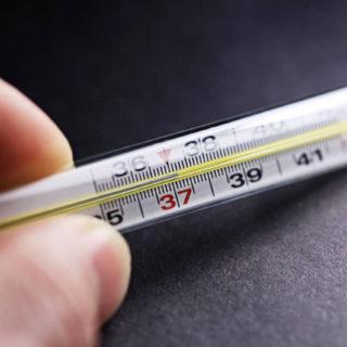 Температура перед месячными 37 и выше